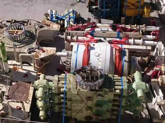 Image of new and used offshore drilling equipment and spare parts for sale