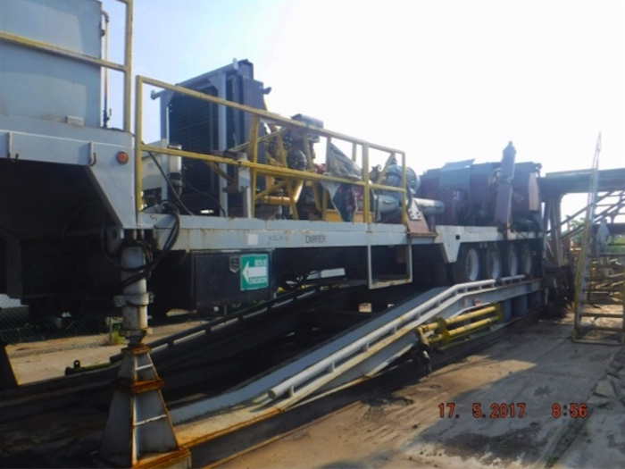 Image of Trailer Mounted, Hydraulic Lift, Super Single Drilling Rigs for Sale
