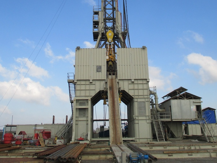 Image of Used Bentec 1500HP AC VFD 350t Euro Drilling Rig
