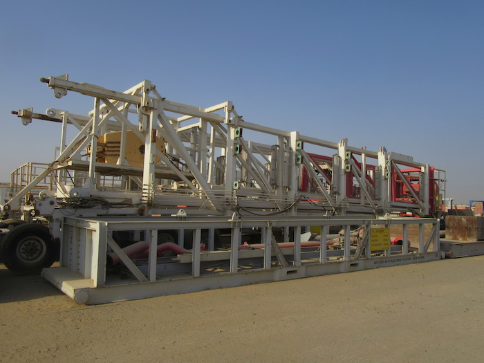 Image of Used 1500HP AC VFD Drilling Rigs available for Sale in the Middle East