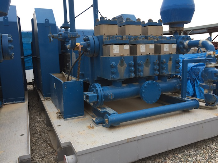 Image of Used 2000HP AC VFD Drillmec Drilling Rig available for sale