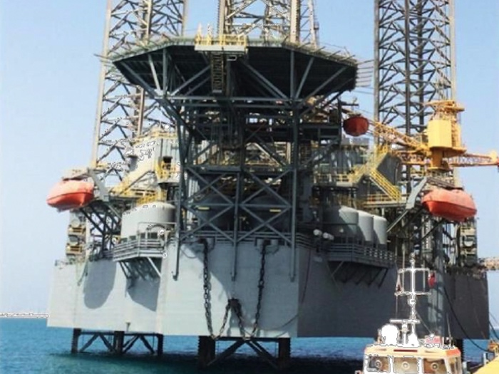 Image of 350ft Jack Up Drilling Rig for Sale or Lease