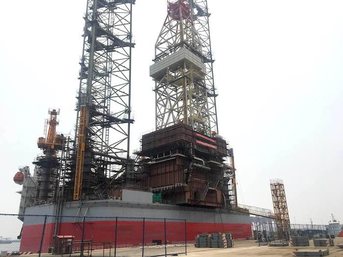 Image of 400ft Jack Up Drilling Rig for Sale or Lease