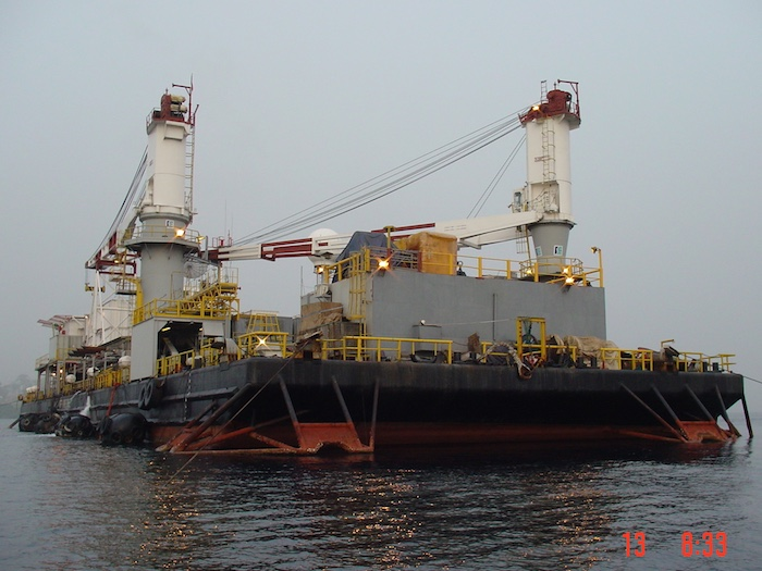 Image of 88m Offshore Construction Work Accommodation Barge for Sale