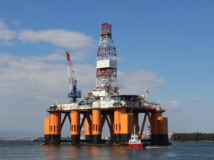 Image of Semi-submersible Drilling Rig